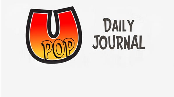 U pop Daily journal